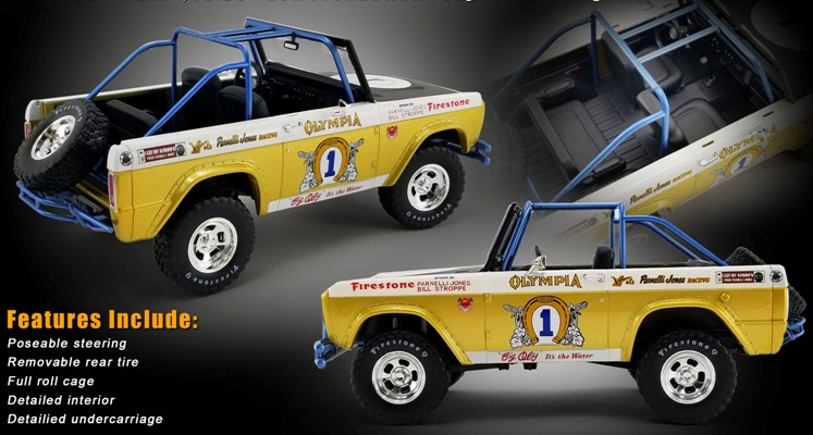 "1970 Bronco ""Big Oly"" Baja 1000 Champ #1 Tribute (SOLD OUT) - Click Image to Close"
