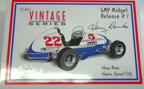 1940's Midget Race Car #22 (Issue #7) Henry Banks (Have One) - Click Image to Close